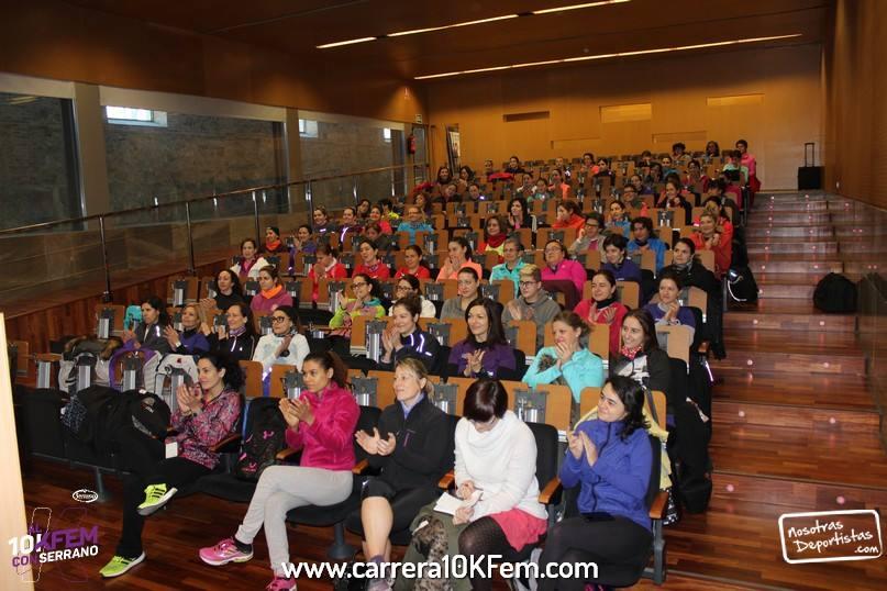 Charla Inaugural entrenamientos 2016 Al10KFem con Serrano