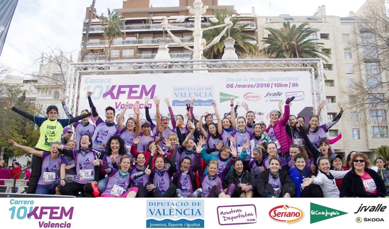 II Carrera 10KFem 2016 – Día de la Mujer… ¡Deportista!