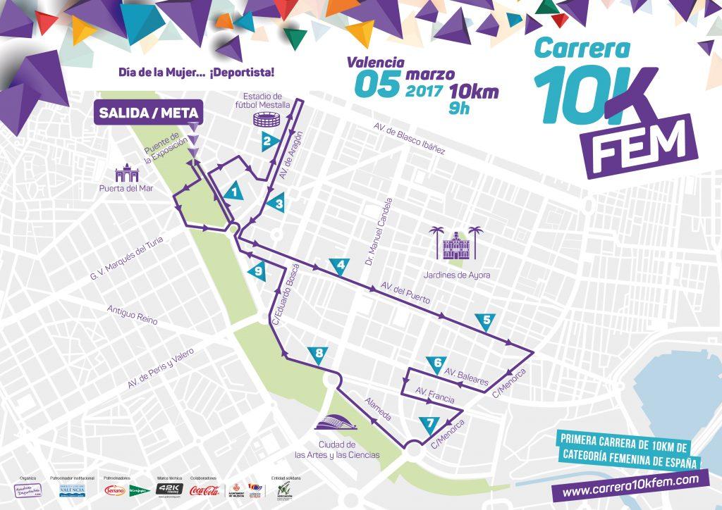Circuito 10K Fem Valencia 2017