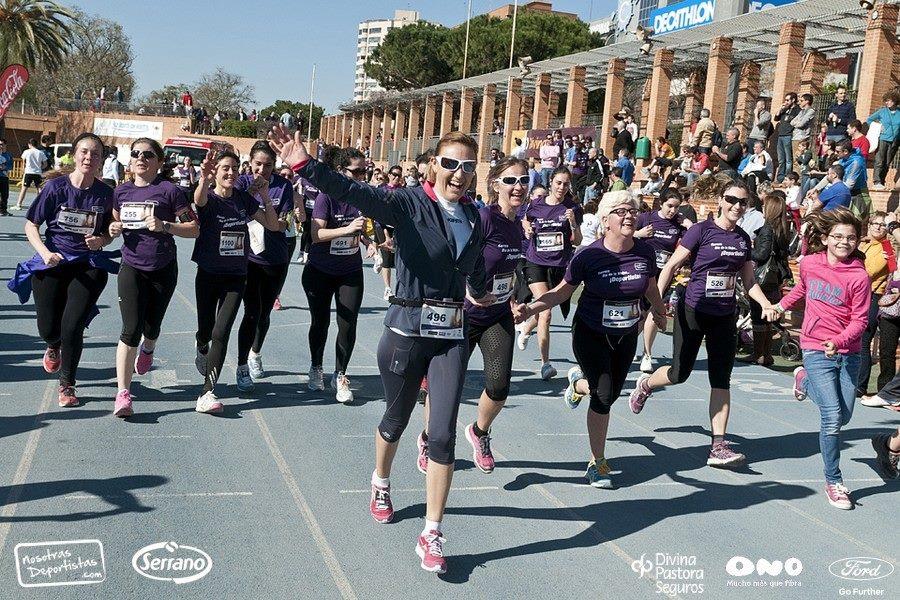 Carrera Día de la Mujer… ¡deportista! 2014 – Llegada a Meta