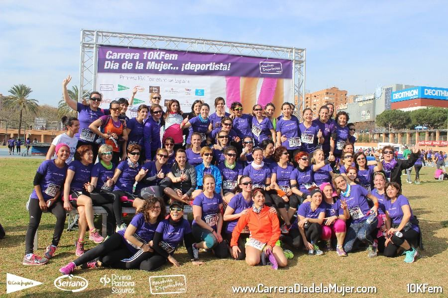 Photocall Carrera Día Mujer Deportista 2015