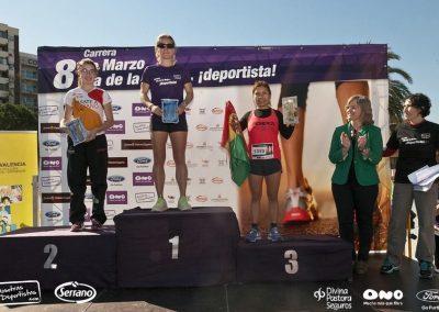 Carrera Día de la Mujer… ¡deportista! 2015 – Podiums