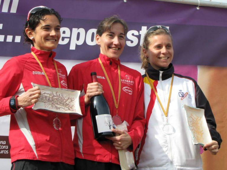 Podiums 2015 Carrera Día de la Mujer Deportista