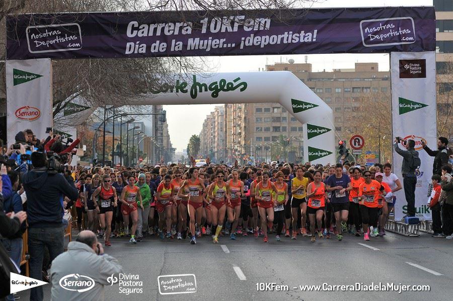 Salida 10KFem 2015- Carrera Día de la Mujer…¡deportista!