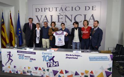 La Carrera 10K Fem se consolida como el motor del deporte femenino en Valencia