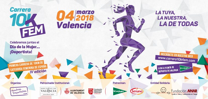 La Carrera 10KFem inicia su edición de 2018 con la apertura de inscripciones