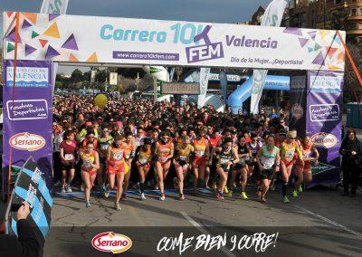 Carrera 10KFem 2017 by Serrano