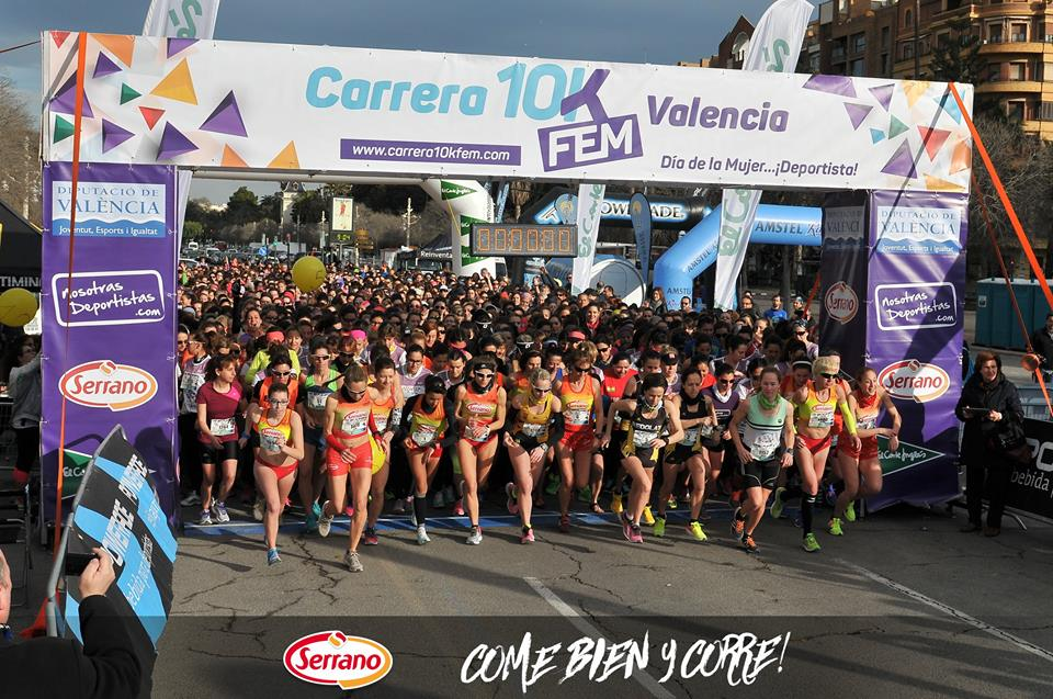 Carrera 10KFem 2017 by Serrano