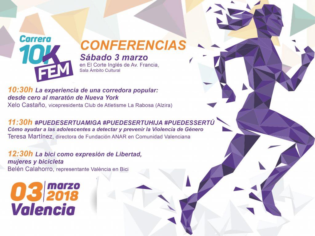 10KFem Conferencias 3 Marzo