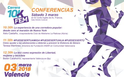La Carrera 10KFem completa su edición de 2018 con charlas sobre nutrición y deporte