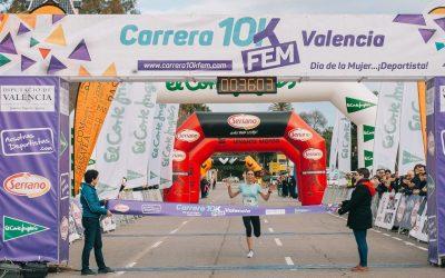 La atleta internacional Matea Matosevic gana la cuarta edición de la Carrera 10KFem