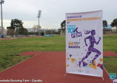 Quedada de Running Femenino Gandía