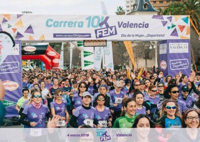 4ª edición Carrera 10KFem 2018