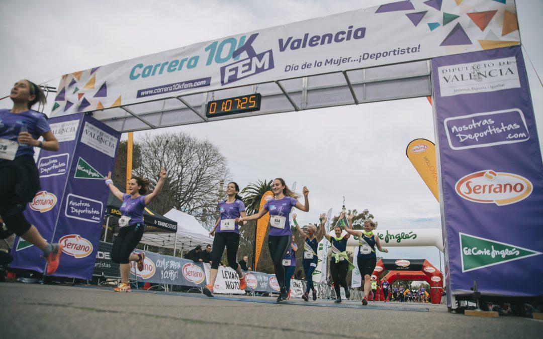 La Carrera 10KFem completa su 5º edición con un ciclo de charlas y actividades deportivas