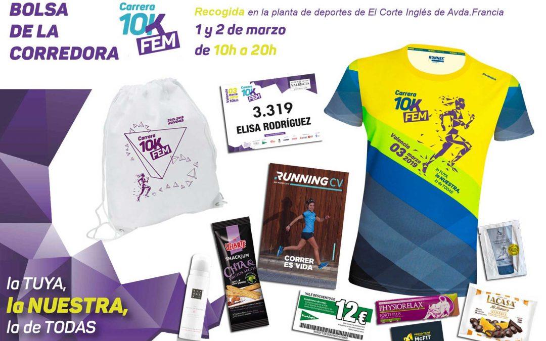Últimas instrucciones sobre la feria de la corredora, la recogida de dorsales y el día de la carrera