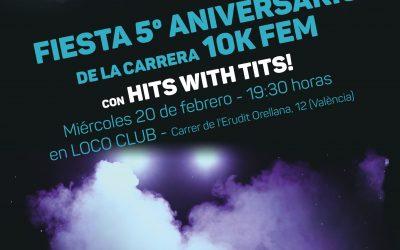 La Carrera 10KFem celebra su 5º aniversario con una fiesta para todas las corredoras de Valencia