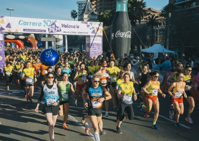 Carrera 10KFem 2019 Salida