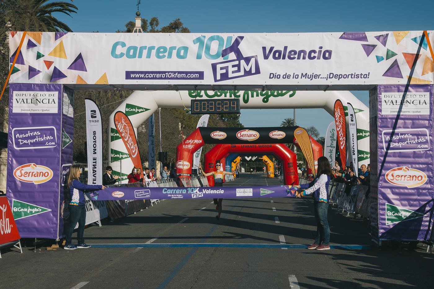 Carrera 10KFem 2019 Ganadoras