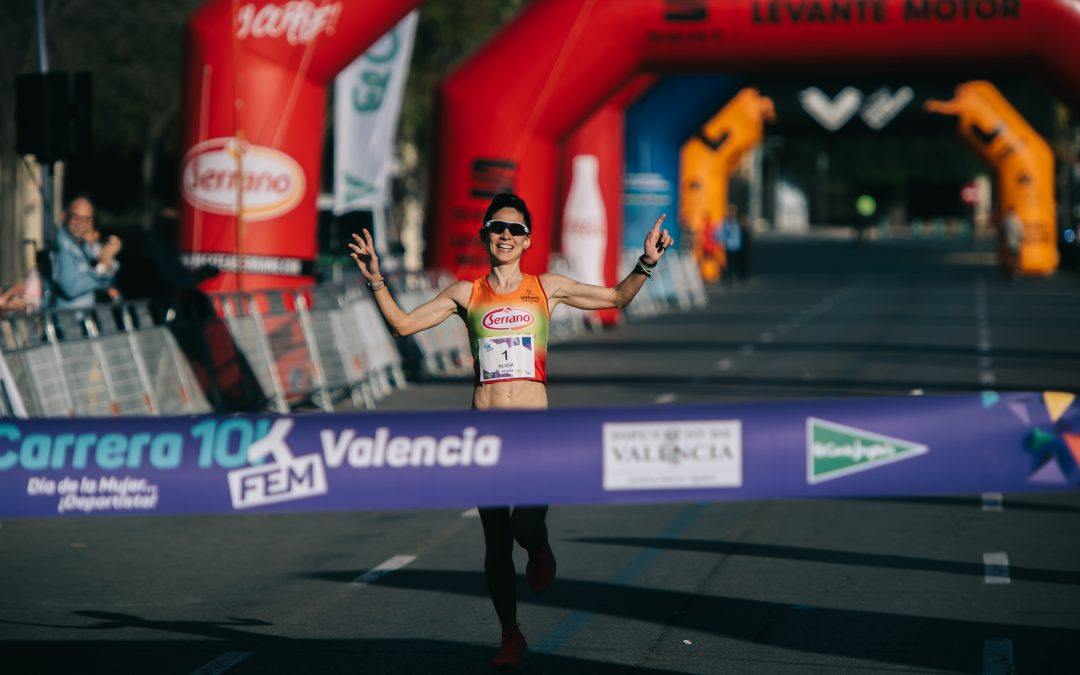 La atleta Alicia Pérez gana la quinta edición de la Carrera 10KFem