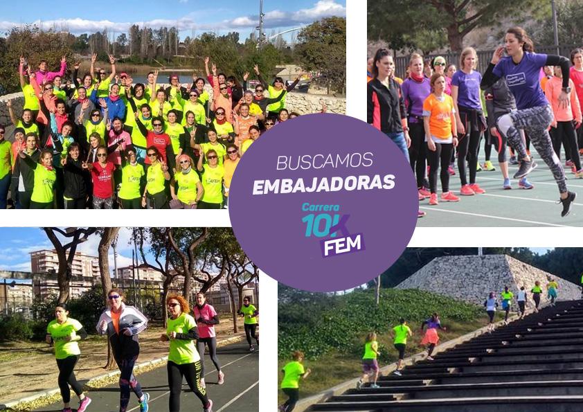 La Carrera 10KFem contará este año con embajadoras para sus Quedadas de Running Femenino