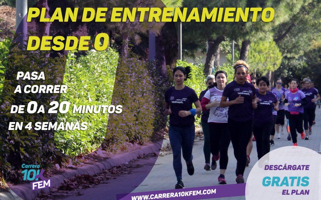 La Carrera 10KFem presenta sus planes de entrenamiento para comenzar a correr desde cero