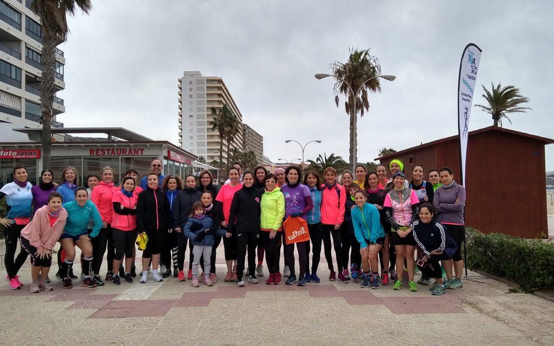 Éxito de participación en la primera Quedada de Running Femenino de la 10KFem 2020 celebrada en Cullera