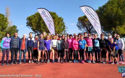 Gran éxito de participación de la Quedada 10KFem de Running Femenino en Alcoi