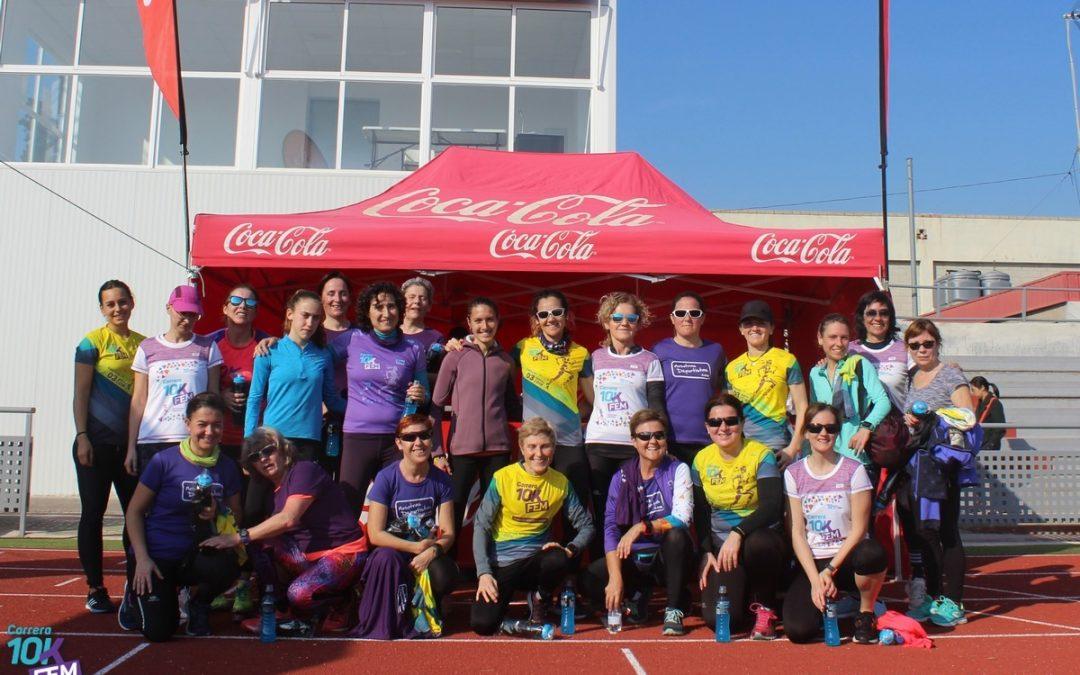 Éxito de participación en la última Quedada 10KFem de Running Femenino en Sagunt