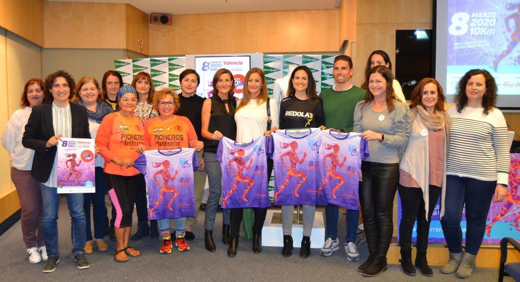 Más de 2.500 corredoras participarán en la 6ª edición de la Carrera 10KFem