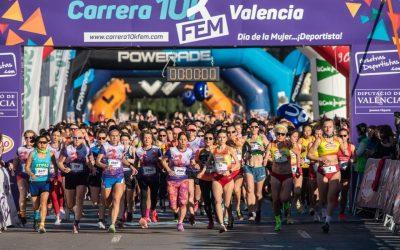 La atleta oscense Virgina Sanromán gana la sexta edición de la Carrera 10KFem