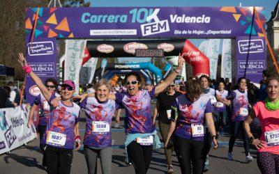 La Carrera 10KFem cambia la fecha de su séptima edición al 19 de junio de 2021